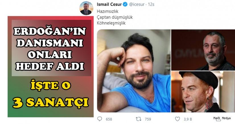 AKP 3 ünlü ismi hedef aldı