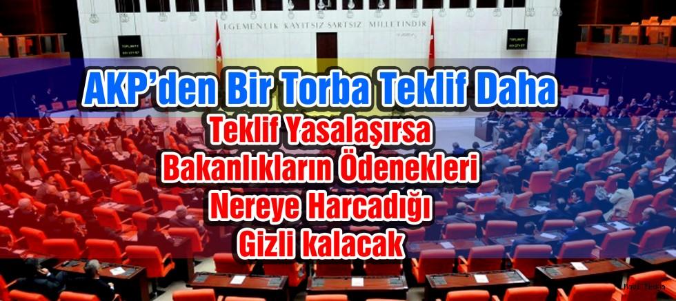 AKP'den bir torba teklif daha
