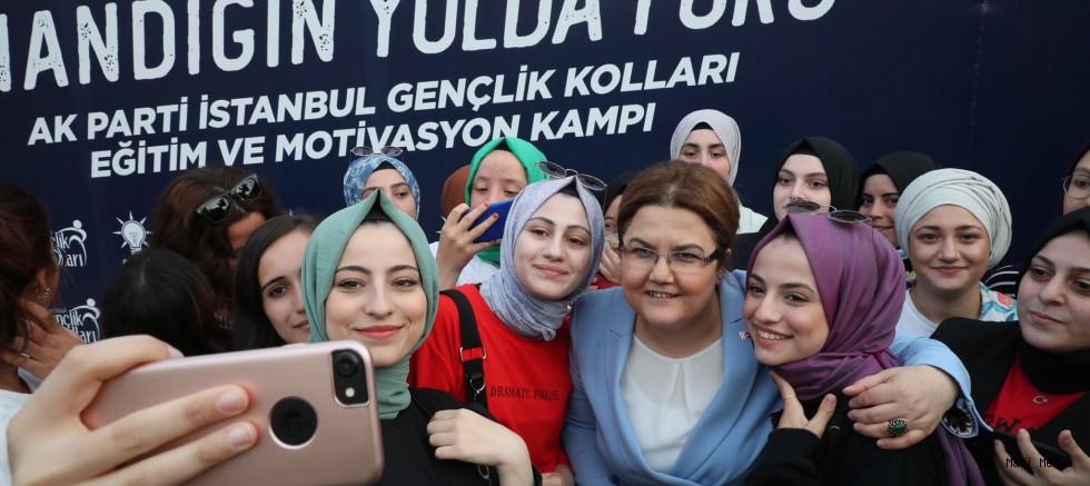 Bakan Yanık, AKP Gençlik Kampında