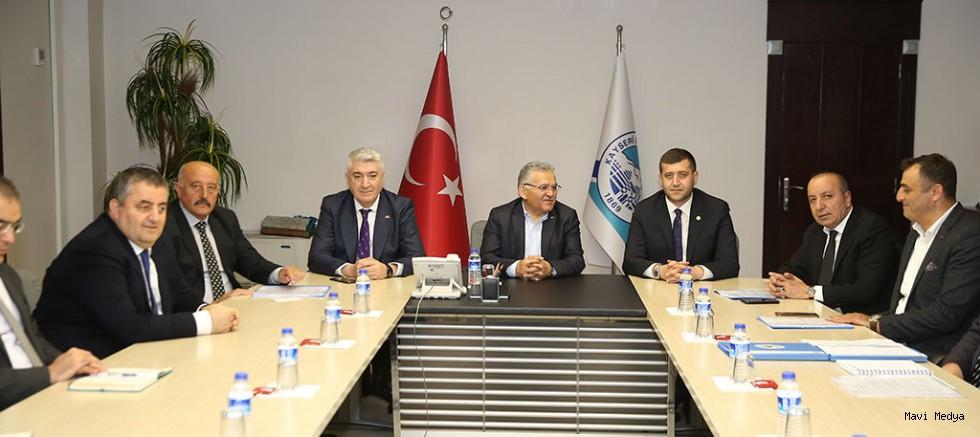 Büyükşehir'de Yatırım Koordinasyon Toplantısı