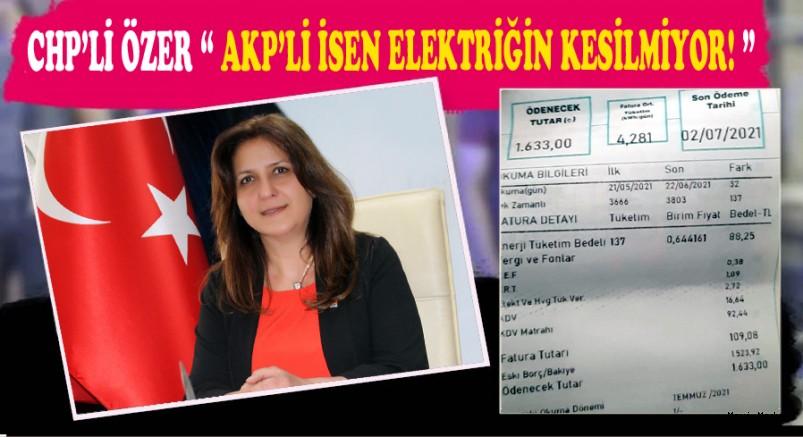 CHP KAYSERİ  İL BAŞKANI ÜMİT ÖZER'DEN ÇARPICI İDDİA!