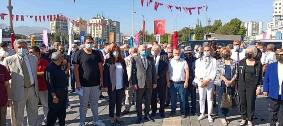 CHP'NİN 98. YAŞ GÜNÜ KUTLANDI.