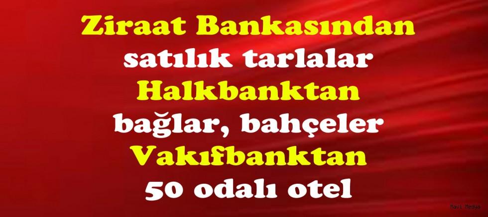 Devlet bankaları gayrimenkul zengini oldu