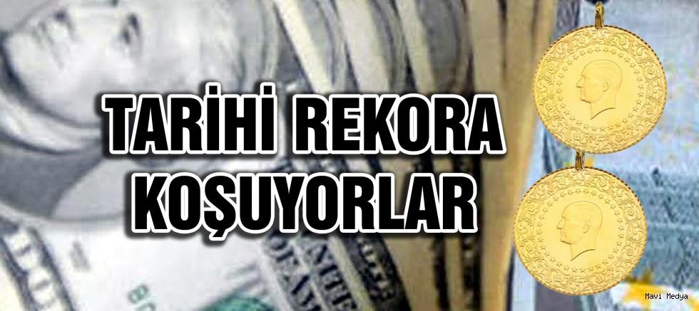 Dolar, avro ve gram altında yükseliş durmuyor!