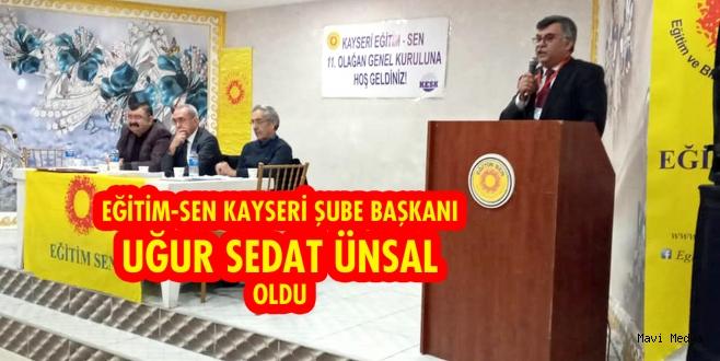 Eğitim-Sen Kayseri Şubesi 11. Genel Kurulu gerçekleştirildi.