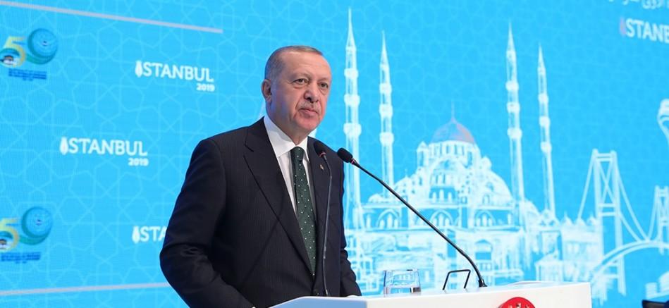 Erdoğan, İslam İşbirliği Teşkilatı (İİT) Toplantısı'na katıldı