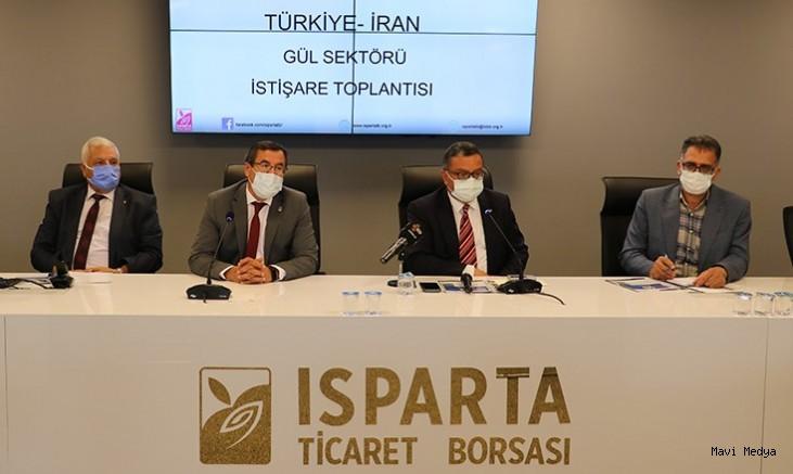 Gül sektöründe Isparta-İran işbirliği