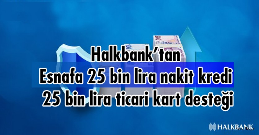 HalkBank dan Esnafa Destek