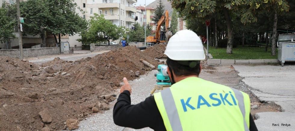 KASKİ, YAĞMUR SULARINI KANALİZASYON HATTINDAN AYIRIYOR