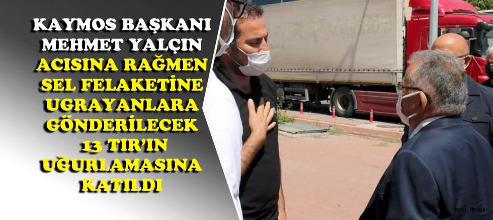 KAYMOS KASTAMONU VE SİNOP'A 13 TIR GÖNDERDİ
