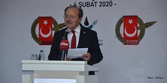 Kayseri Büyükşehir Gazeteciler Cemiyeti Basın Evi açıldı