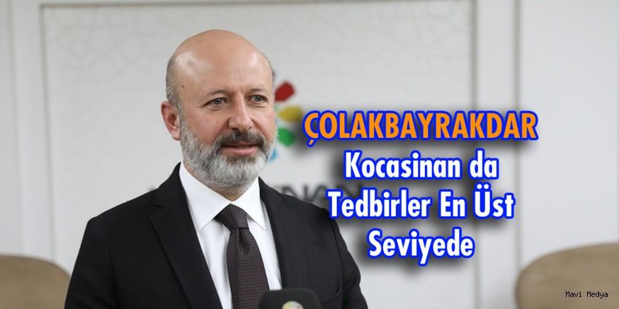 KOCASİNAN'DA TÜM TEDBİRLER EN ÜST SEVİYEDE