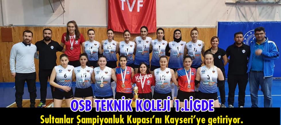 OSB Teknik Koleji 1.Lig'de