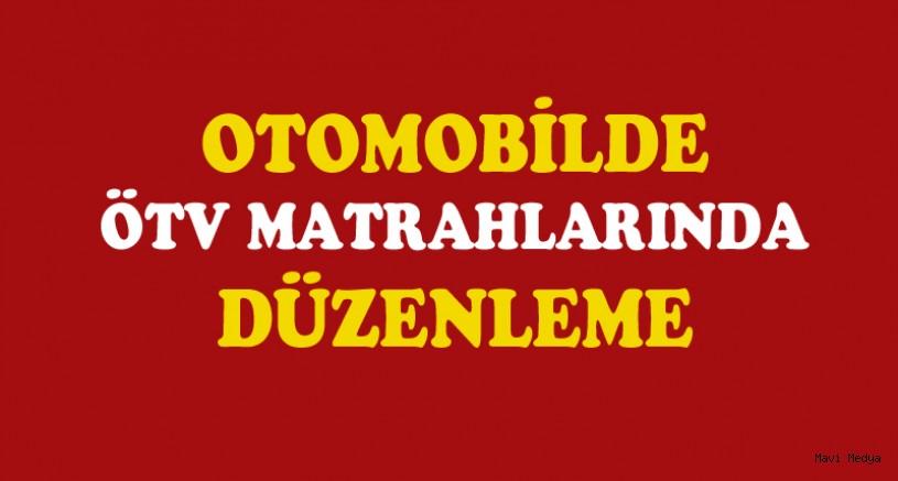 Otomobilde ÖTV'ye esas matrah artırıldı