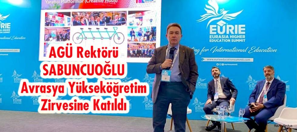 Rektör Sabuncuoğlu (EURIE 2020) Zirvesine  Konuşmacı Olarak Katıldı.