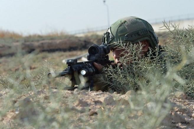 """""""Suriye'nin kuzeyinde 4 PKK/YPG'li terörist etkisiz hale getirildi"""""""