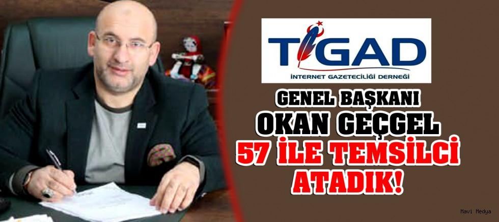 TİGAD- İnternet Gazeteciliği Derneği İl Temsilciliği Atamaları Gerçekleştirildi