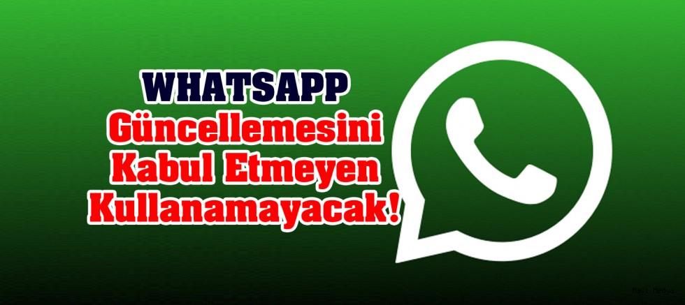 WhatsApp dan Açıklama Geldi